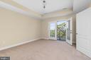 Master Bedroom Balcony with a view over the town - 173 WHITE OAK ROAD, FREDERICKSBURG