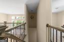 Upstairs hallway open to below - 173 WHITE OAK ROAD, FREDERICKSBURG