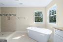 Master Bathroom with roman tub - 173 WHITE OAK ROAD, FREDERICKSBURG