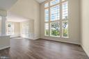 Luxury vinyl floors all through the first floor - 173 WHITE OAK ROAD, FREDERICKSBURG