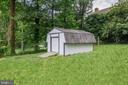 Storage shed - 5202 CEDAR RD, ALEXANDRIA