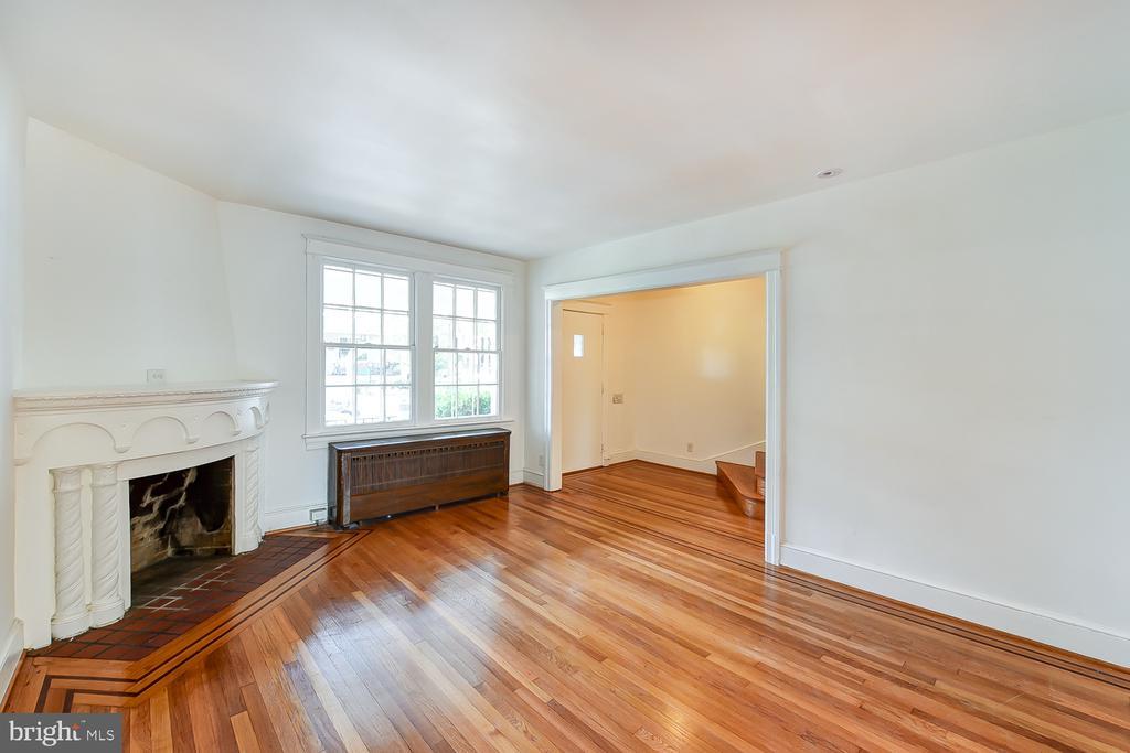 Spacious Living Room - 1732 HOBART ST NW, WASHINGTON