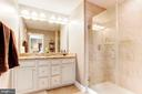 Master bathroom - 16684 DANRIDGE MANOR DR, WOODBRIDGE