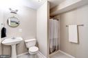 Lower Level Full Bathroom - 12387 COPENHAGEN CT, RESTON
