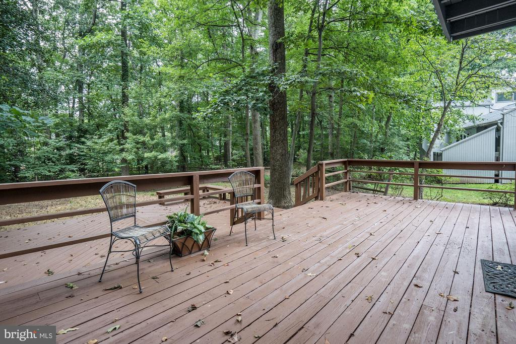 Large 2 Level Deck - 12387 COPENHAGEN CT, RESTON