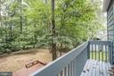 View of Yard from Master - 12387 COPENHAGEN CT, RESTON