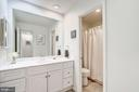 Upper Hall Bathroom - 12387 COPENHAGEN CT, RESTON