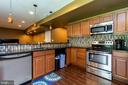 2nd full kitchen in basement - 212 WOOD LANDING RD, FREDERICKSBURG