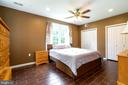 5th bedroom in basement - 212 WOOD LANDING RD, FREDERICKSBURG