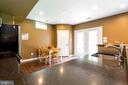 Second Full eat-in kitchen with access to backyard - 212 WOOD LANDING RD, FREDERICKSBURG