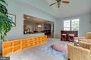 Sun room open to kitchen - 212 WOOD LANDING RD, FREDERICKSBURG