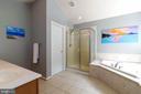 Enjoy privacy of water closet in master bath - 212 WOOD LANDING RD, FREDERICKSBURG