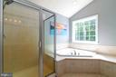 Relax in jetted tub after a long day - 212 WOOD LANDING RD, FREDERICKSBURG