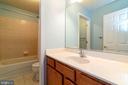 Large countertop in guest bath - 212 WOOD LANDING RD, FREDERICKSBURG