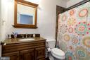 Full bath in basement - 212 WOOD LANDING RD, FREDERICKSBURG