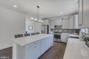 Modern kitchen - 10932 HILLTOP, COLUMBIA