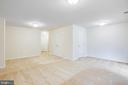 Another look at basement rec room - 4540 ALLIANCE WAY, FREDERICKSBURG