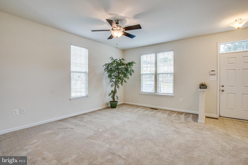 Ceiling fan and extra windows mean plenty of light - 4540 ALLIANCE WAY, FREDERICKSBURG