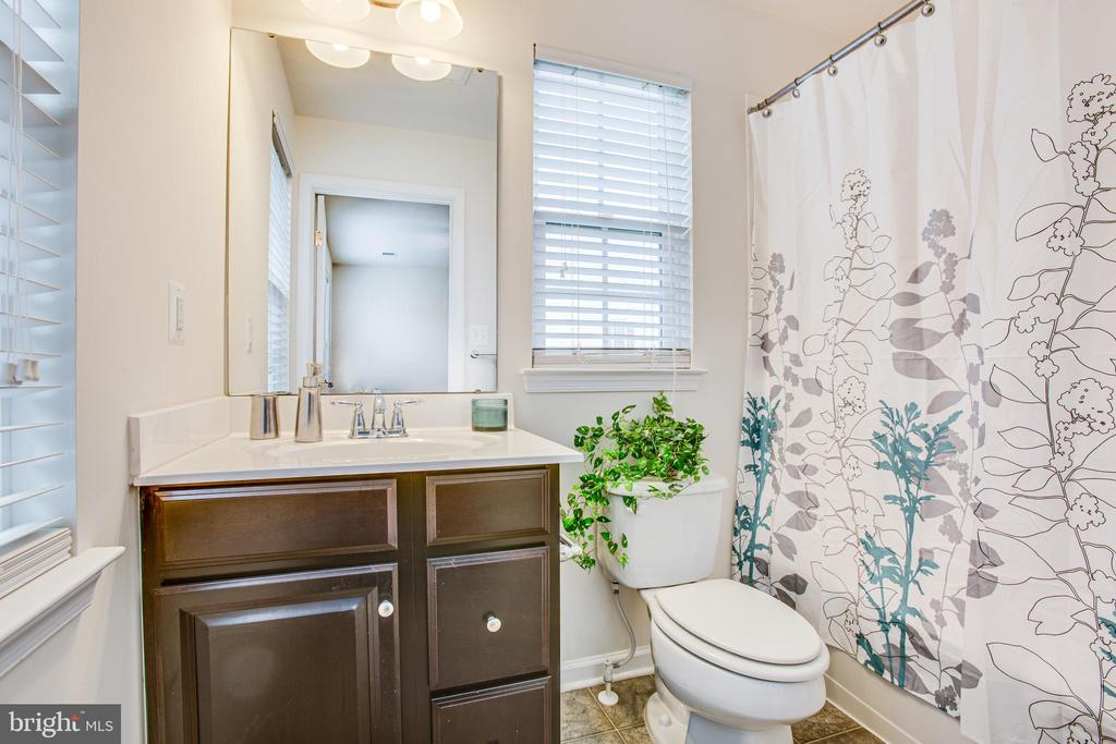 Sunny and bright master bath - 4540 ALLIANCE WAY, FREDERICKSBURG