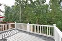 Trex and vinyl deck means no maintenance! - 4540 ALLIANCE WAY, FREDERICKSBURG