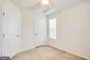 Second bedroom with overhead ducting - 4540 ALLIANCE WAY, FREDERICKSBURG