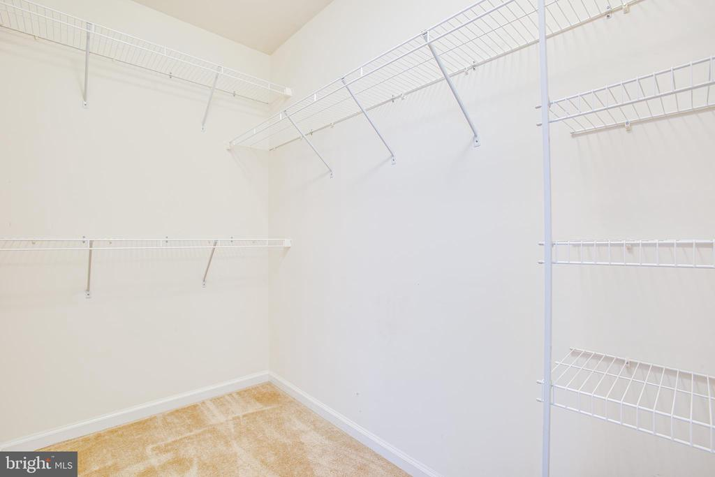 Large walk-in master closet - 4540 ALLIANCE WAY, FREDERICKSBURG