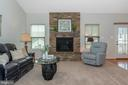 Gorgeous Stone Fireplace - 5944 DUVEL ST, IJAMSVILLE