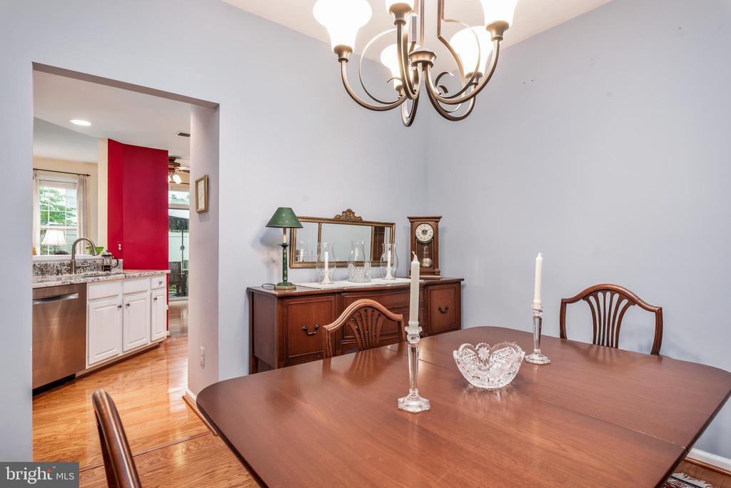 Dining room - 43718 MIDDLEBROOK TER, ASHBURN