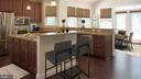 Kitchen with Breakfast Area - 3985 WHIPS RUN DR, WOODBRIDGE