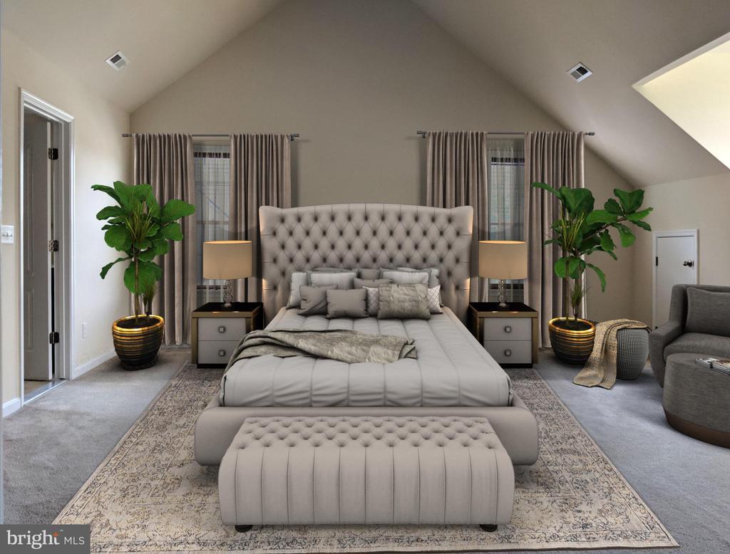 Master Bedroom - 3985 WHIPS RUN DR, WOODBRIDGE