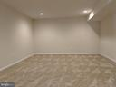 Theater Room in Basement - 3985 WHIPS RUN DR, WOODBRIDGE