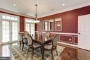 Formal dining room - 14608 CROSSWAY RD, ROCKVILLE