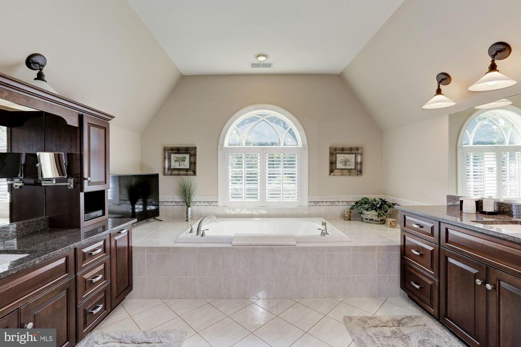 Dual vanities and large tub - 14608 CROSSWAY RD, ROCKVILLE