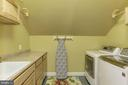 Large 2nd floor laundry room - 14608 CROSSWAY RD, ROCKVILLE