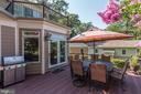 Spacious composite deck - 14608 CROSSWAY RD, ROCKVILLE