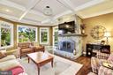 Gorgeous views and gas fireplace - 14608 CROSSWAY RD, ROCKVILLE