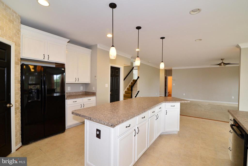 Pendant lighting, walk in pantry, drop zone - 16901 EVENING STAR DR, ROUND HILL