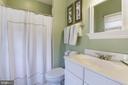 Fourth Full Bath in Sunroom - 11203 GUNSTON RD, LORTON
