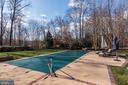 Large Heated Pool, perfect for swimming laps - 11203 GUNSTON RD, LORTON