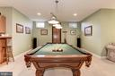 Billiard Room - 11203 GUNSTON RD, LORTON