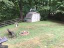 Shed for extra storage & wooded back yard - 16 LORD FAIRFAX DR, FREDERICKSBURG