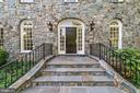 Hand chiseled stone front - 1353 WOODSIDE DR, MCLEAN