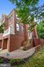 Brick walk from driveway to front stairs - 8158 BOSS ST, VIENNA