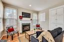 Cozy fireplace & family room off kitchen - 8158 BOSS ST, VIENNA