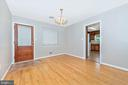 Dining Room - 610 SCHLEY AVE, FREDERICK