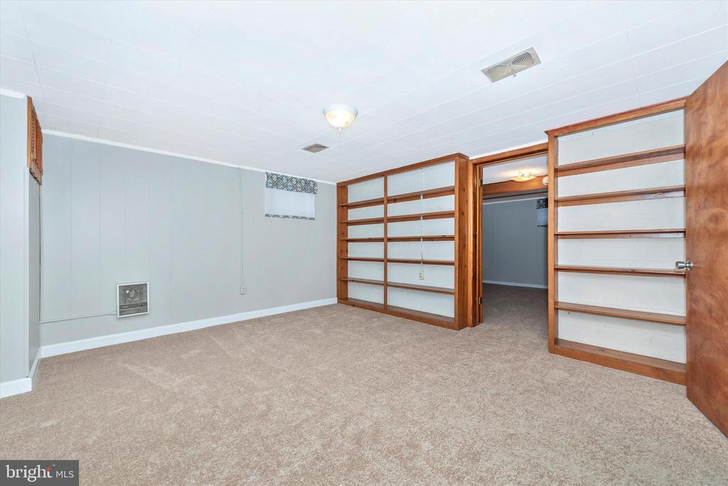 Lower Level Library - all newly painted. - 610 SCHLEY AVE, FREDERICK