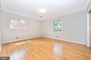 Master Bedroom - hardwood floors through out - 610 SCHLEY AVE, FREDERICK