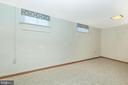 Spacious Laundry Room with new flooring. - 610 SCHLEY AVE, FREDERICK