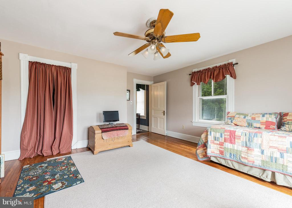 Most bedrooms have ceiling fans - 9309 WHISKEY BOTTOM RD, LAUREL