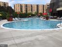 Pool - out door - 8340 GREENSBORO DR #814, MCLEAN